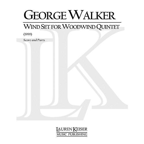 Lauren Keiser Music Publishing Wind Set for Woodwind Quintet (Woodwind Quintet) LKM Music Series by George Walker