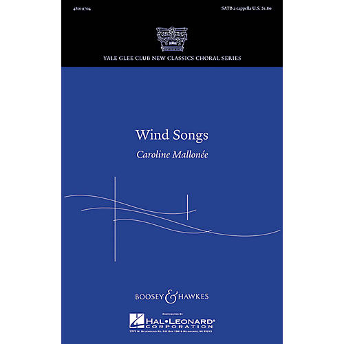Boosey and Hawkes Wind Songs SATB a cappella composed by Caroline Mallonée