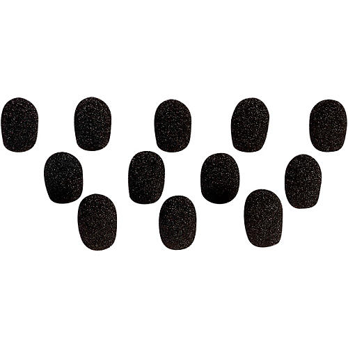 On-Stage Windscreens for Headset Microphones Black