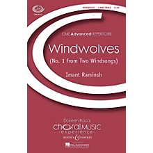 Boosey and Hawkes Windwolves (No. 1 from Two Windsongs) CME Advanced 4 Part Treble composed by Imant Raminsh