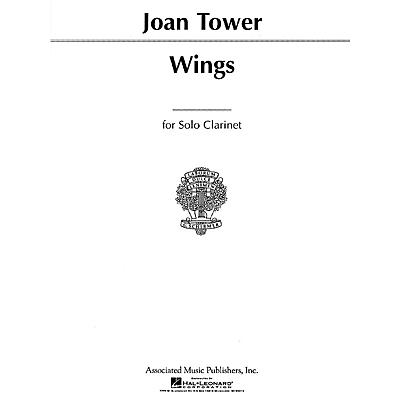 Associated Wings (for Solo Clarinet or Bass Clarinet) Woodwind Solo Series Composed by Joan Tower