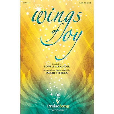 PraiseSong Wings of Joy DVD TRACK WITH CLICK TRACK Arranged by Robert Sterling