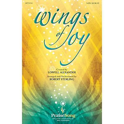 PraiseSong Wings of Joy SATB arranged by Robert Sterling