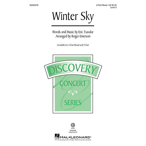 Hal Leonard Winter Sky (Discovery Level 2) VoiceTrax CD Arranged by Roger Emerson