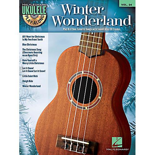 Hal Leonard Winter Wonderland - Ukulele Play-Along Volume 24 Book/CD