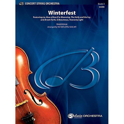 Alfred Winterfest String Orchestra Grade 3 Set