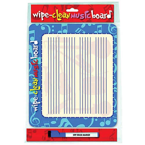 Music Sales Wipe Clean Music Board (Landscape Edition) Music Sales America Series Written by Various Authors
