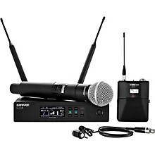 Wireless Bodypack and Vocal Combo System with WL185 and SM58 Band H50