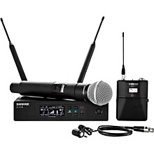 Open BoxShure Wireless Bodypack and Vocal Combo System with WL185 and SM58