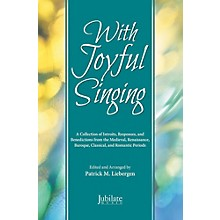 JUBILATE With Joyful Singing - Preview Pack (SATB Choral Book & Listening CD)