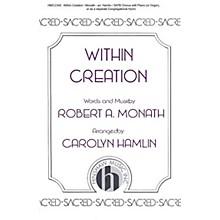 Hinshaw Music Within Creation SATB arranged by Carolyn Hamlin
