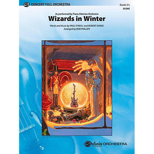 Alfred Wizards in Winter Full Orchestra Level 3.5 Set