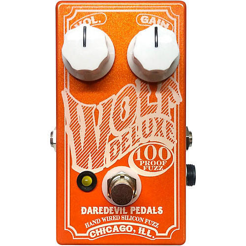 Daredevil Pedals Wolf Deluxe Fuzz Effects Pedal