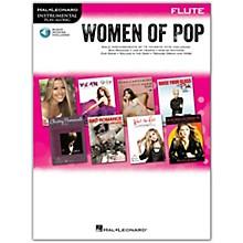 Hal Leonard Women Of Pop For Flute - Instrumental Play-Along Book/Online Audio