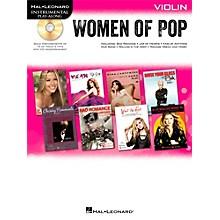 Hal Leonard Women Of Pop For Violin - Instrumental Play-Along Book/CD