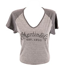 Martin Women's Basic Logo T-Shirt - Heather Gray