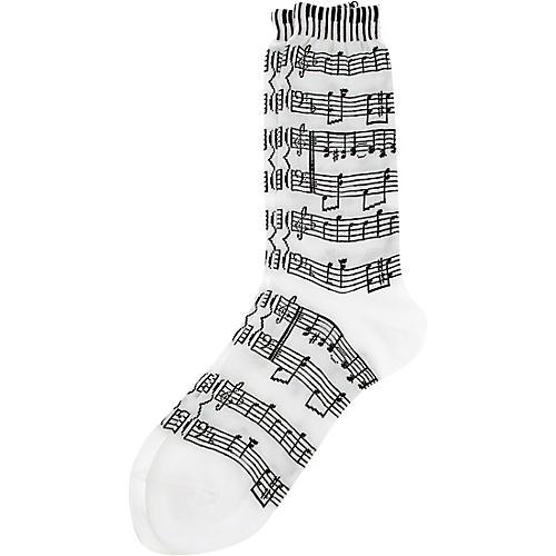 AIM Women's Music Score And Keyboard Socks