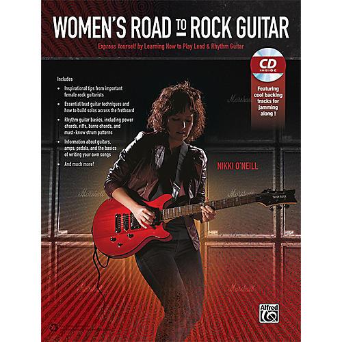 Alfred Women's Road to Rock Guitar Book & CD