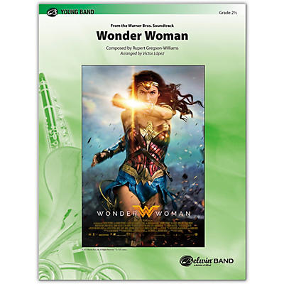 BELWIN Wonder Woman: From the Warner Bros. Soundtrack 2.5 (Easy to Medium Easy)