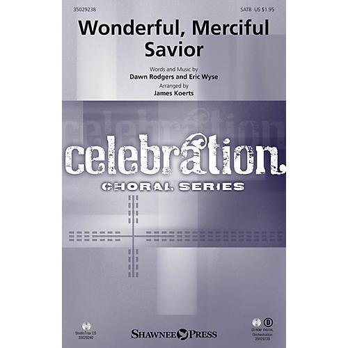 Shawnee Press Wonderful, Merciful Savior Studiotrax CD Arranged by James Koerts