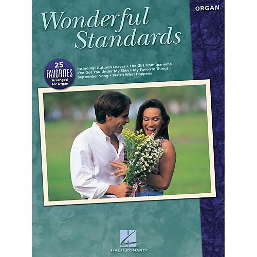 Hal Leonard Wonderful Standards Organ Adventure Series