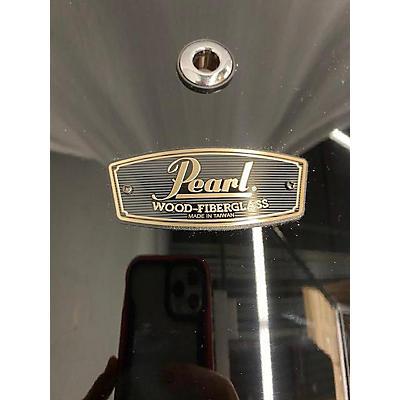 Pearl Wood Fiberglass Drum Kit