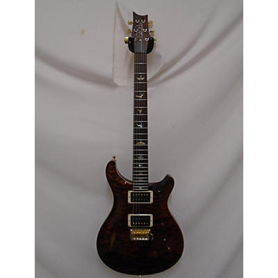 PRS Wood Library Custom 24 10 Top Brazilian Fret Board Solid Body Electric Guitar