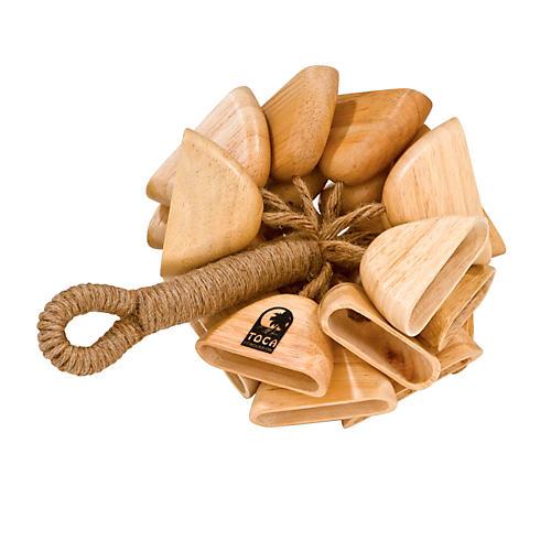 Toca Wood Rattle on Handle