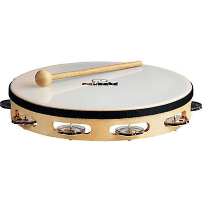 Nino Wood Single Row Tambourine