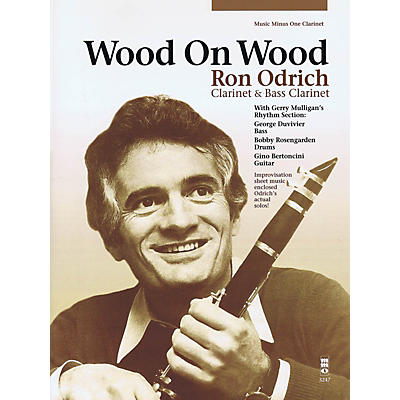 Music Minus One Wood on Wood Music Minus One Series BK/CD Performed by Ron Odrich