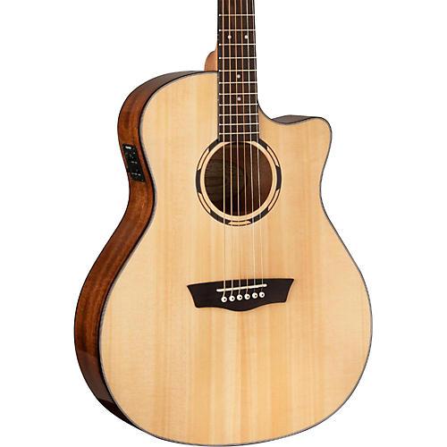 Washburn Woodbine Series WLOSCE Acoustic-Electric Orchestra Guitar