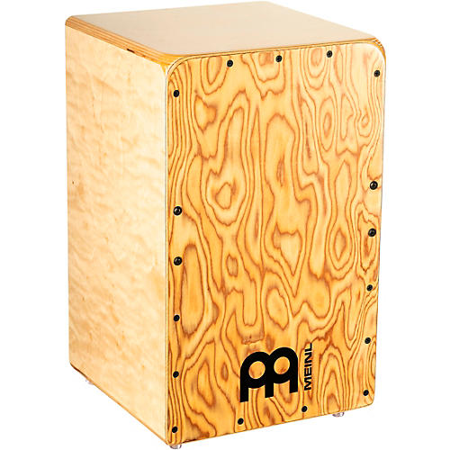 Meinl Woodcraft Series String Cajon with Makah Burl Frontplate Condition 1 - Mint  Makah Burl