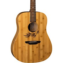 Luna Guitars Woodland Bamboo Dreadnought Acoustic Guitar