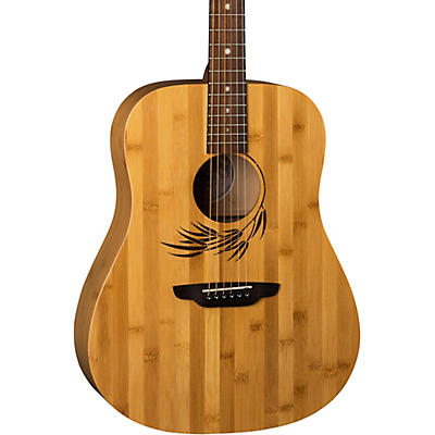 Luna Guitars Woodland Bamboo Dreadnought Acoustic Guitar