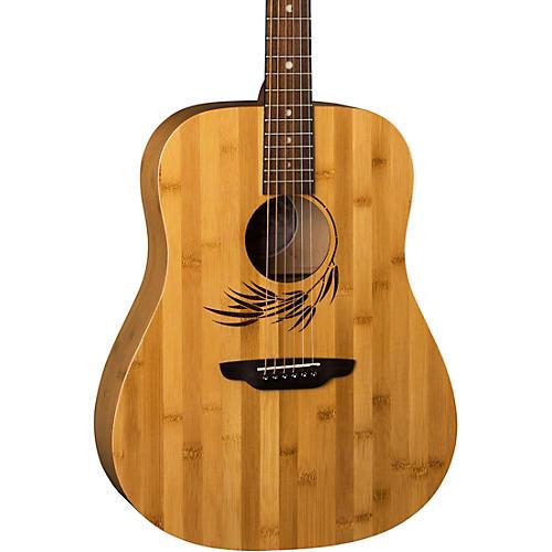 Luna Guitars Woodland Bamboo Dreadnought Acoustic Guitar Bamboo