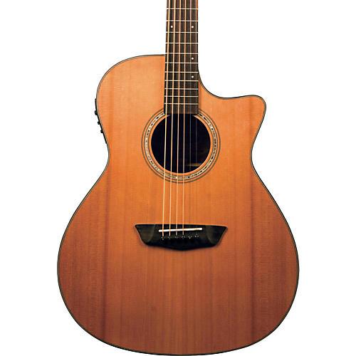 Washburn Woodline Series WLG110SWCEK Grand Auditorium Acoustic-Electric Guitar