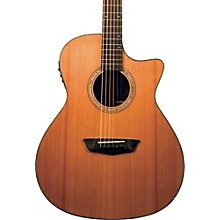 Open Box Washburn Woodline Series WLG110SWCEK Grand Auditorium Acoustic-Electric Guitar