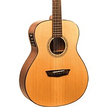 Open Box Washburn Woodlline Series WLO100SWEK Orchestra Acoustic-Electric Guitar