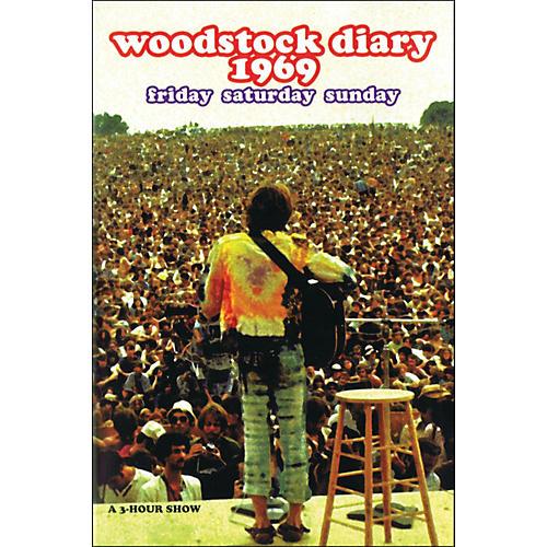 Hal Leonard Woodstock Diary 1969 Friday Saturday Sunday Documentary DVD