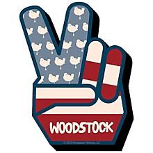 Hal Leonard Woodstock Peace Chunky Magnet