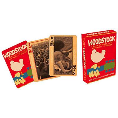 Hal Leonard Woodstock Playing Card Deck