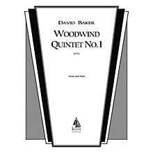 Lauren Keiser Music Publishing Woodwind Quintet No. 1 LKM Music Series by David Baker