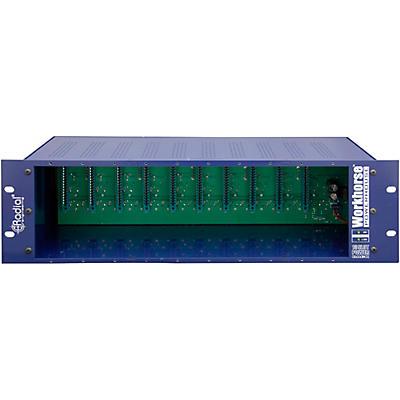 Radial Engineering Workhorse Powerhouse 10 Space 500 Series Rack