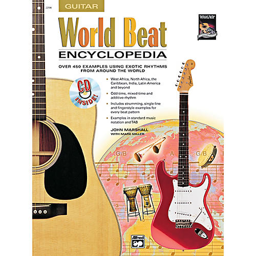 Alfred World Beat Encyclopedia Book & CD