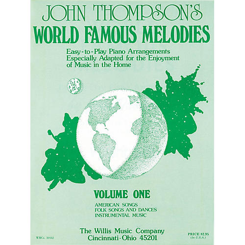 Willis Music World Famous Melodies - Book 1 (Early to Mid-Inter Level) Willis Series