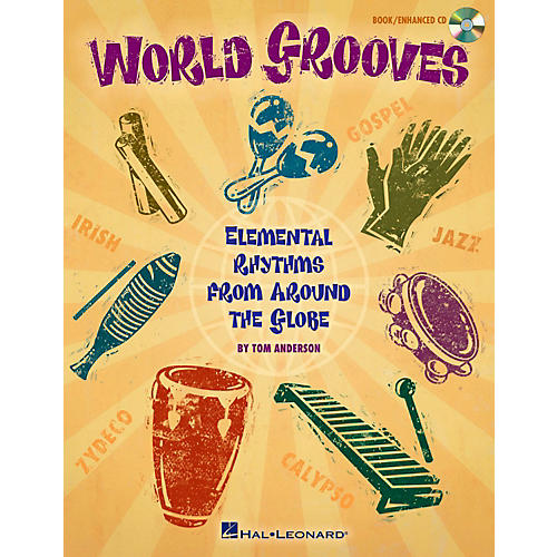 Hal Leonard World Grooves - Elemental Rhythms From Around the Globe Book/CD