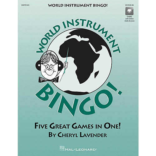 Hal Leonard World Instrument Bingo (Game) (Replacement CD) CD Composed by Cheryl Lavender