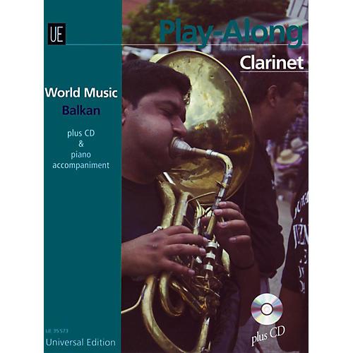 Carl Fischer World Music - Balkan Play Along Clarinet