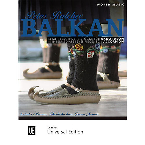 Carl Fischer World Music Balkan: 14 Intermediate Pieces for Accordion Book