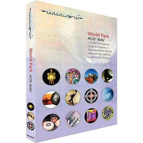 Zero G World Pack ACID WAV Sample Library (2 DVD Set)